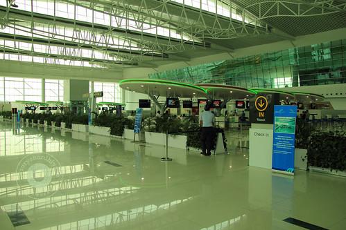 Check In Area di Bandara Internasional Sepinggan Balikpapan