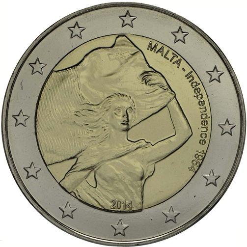 2 Euro Malta 2014, Nezávislosť