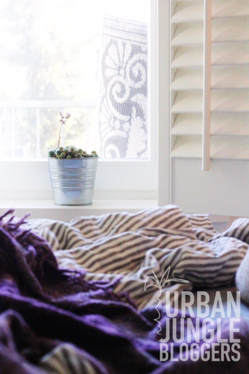 Urban Jungle Bloggers November 2014 Cozy Winter Bedroom Windowsill