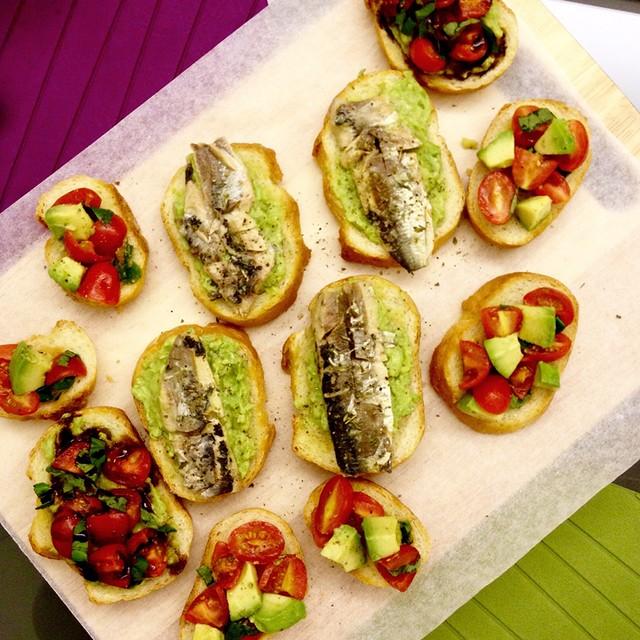 Open Sandwiches & Bruschetta