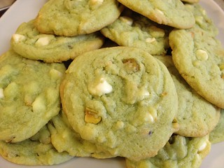 Pistachio Pudding Cookies 14