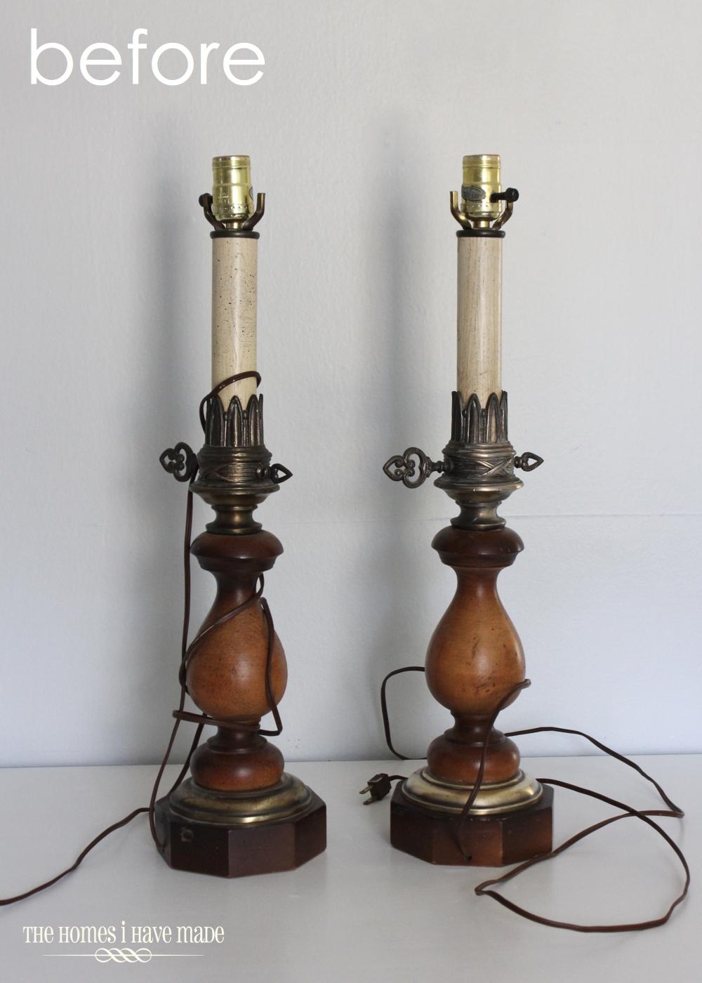 Vintage Lamp Makeover-005