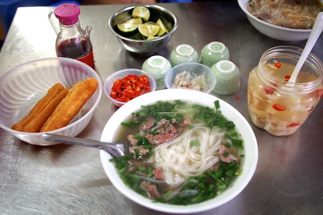 Phở bò, Hanoi, Vietnam