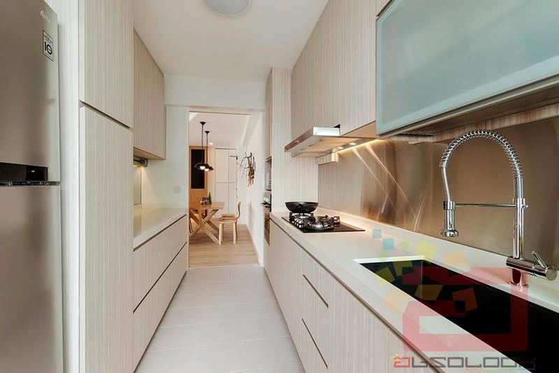 Hdb 5 room scandinavian industrial theme blk 331b for Scandinavian kitchen backsplash