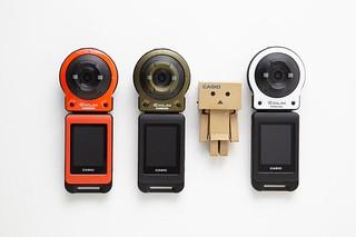 瓦楞紙箱相機保護殼!!! XDDD 阿楞 × 卡西歐『EX-FR10 阿楞 ver.』