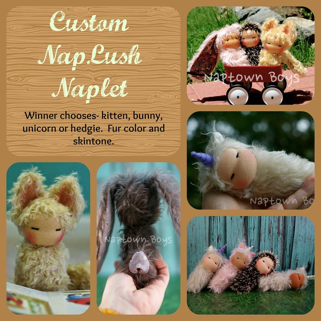 Custom NapLush Napling GIVEAWAY!