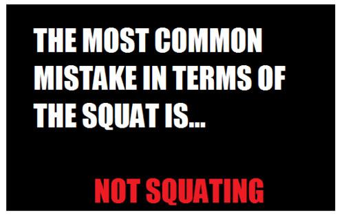Squat Mistake