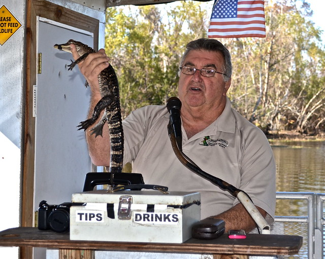jean lafitte swamp tours- our guide