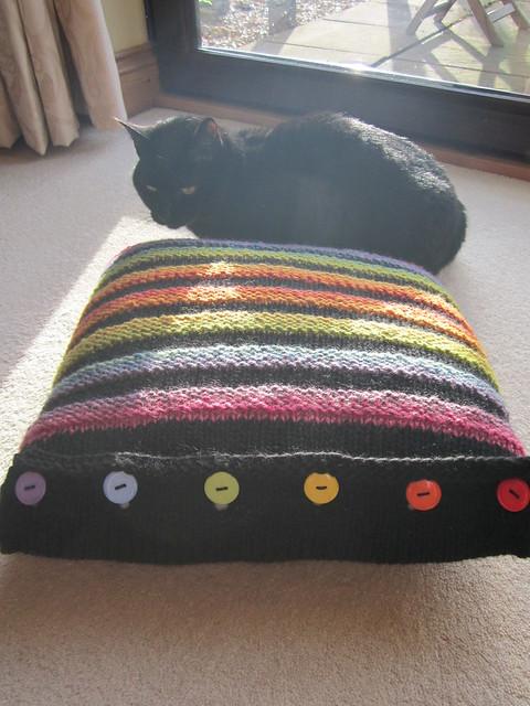 Wurmy rainbow cushion (13)