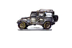 ICON FJ44 Sculpture by Josh Welton