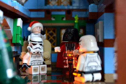 Christmas Eve at Darth Santas!