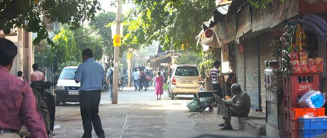 India - street