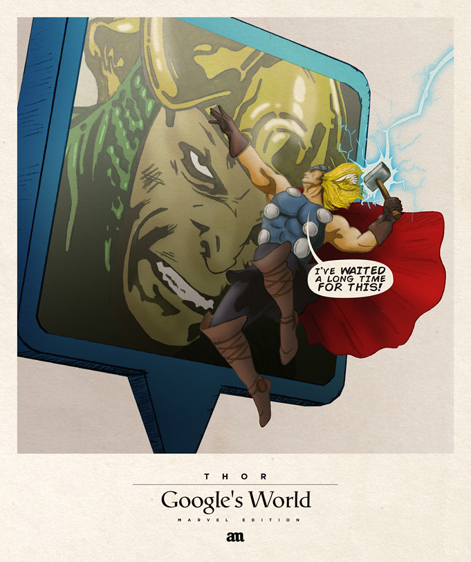 Thor 'Google's World - Marvel Edition'
