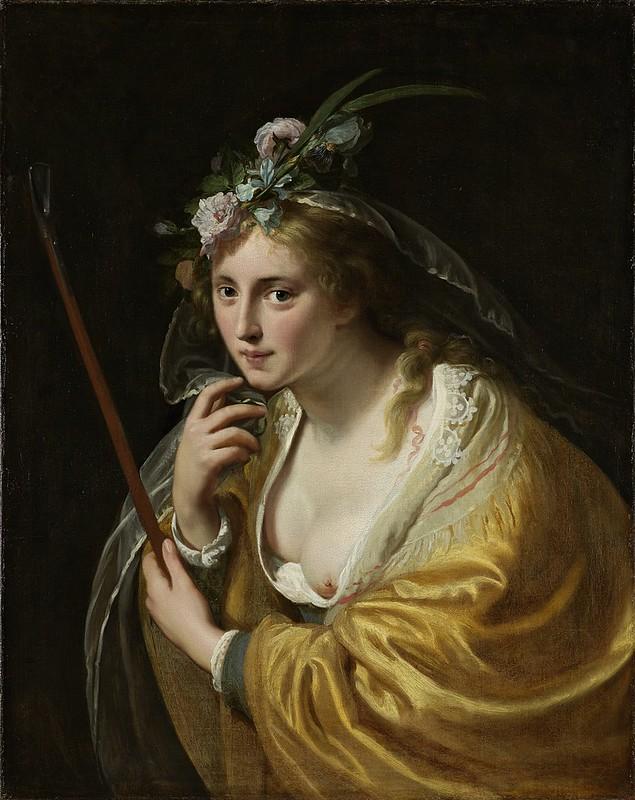 Paulus Moreelse - Een herderin (1630)
