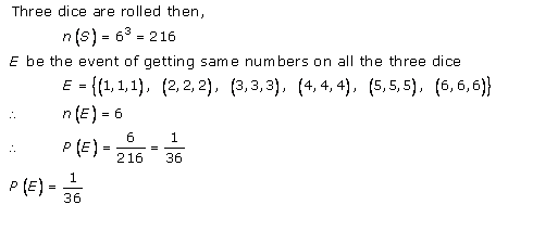RD-Sharma-class-11 Solutions-Chapter-33-Probability-Ex-33.3-Q-9