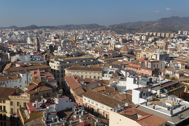 Malaga's Rooftops - Hotel View
