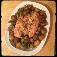 #CucinaDelloZio - #Homemade Roasted Rosemary #Chicken and #Potatoes