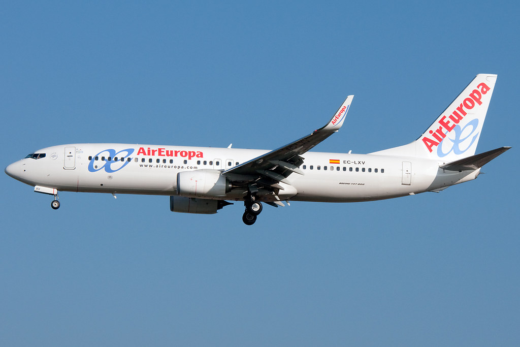 EC-LXV - B738 - Air Europa