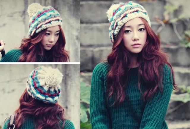 Cách đội mũ/nón len tuyệt đẹp hợp thời trang 12