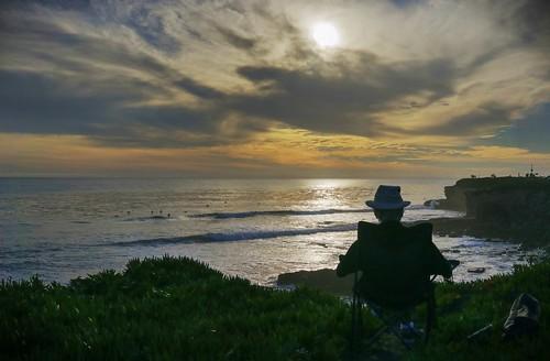 california sunset santacruz clouds relax coast raw day cloudy enjoy coastline relaxation hdr photomatix fav200 1xp nex6 selp1650