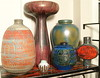 Otto - Carstens - Ceramano - 1960-70's - Vase Group