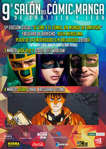 Ciclo el Cine y el Cómic un Mundo de Fantasía. 9º Salón  del Cómic y Manga de Castilla y León.