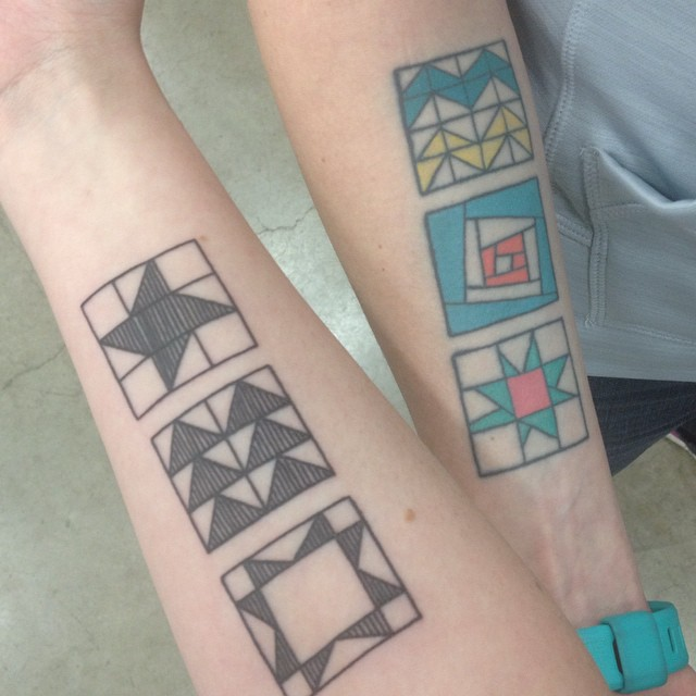 Mommy's Nap Time: April 2015 : quilt tattoo - Adamdwight.com