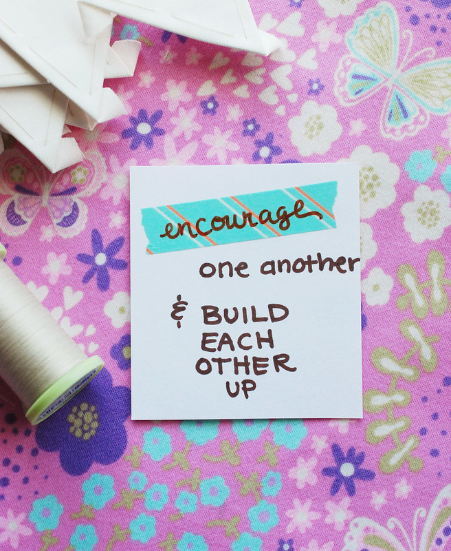 Encourage.