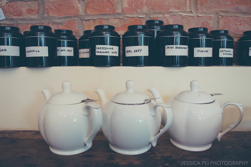 Teapots London Tea Room St. Louis