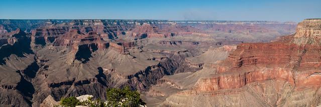 Le Grand Canyon vu du South Rim