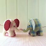 Baby Elephant Softie