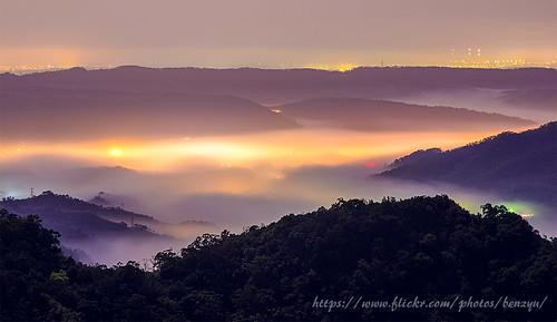 夜景 風景 三義 雲海 山景 雲瀑 雲洞山莊 琉璃光