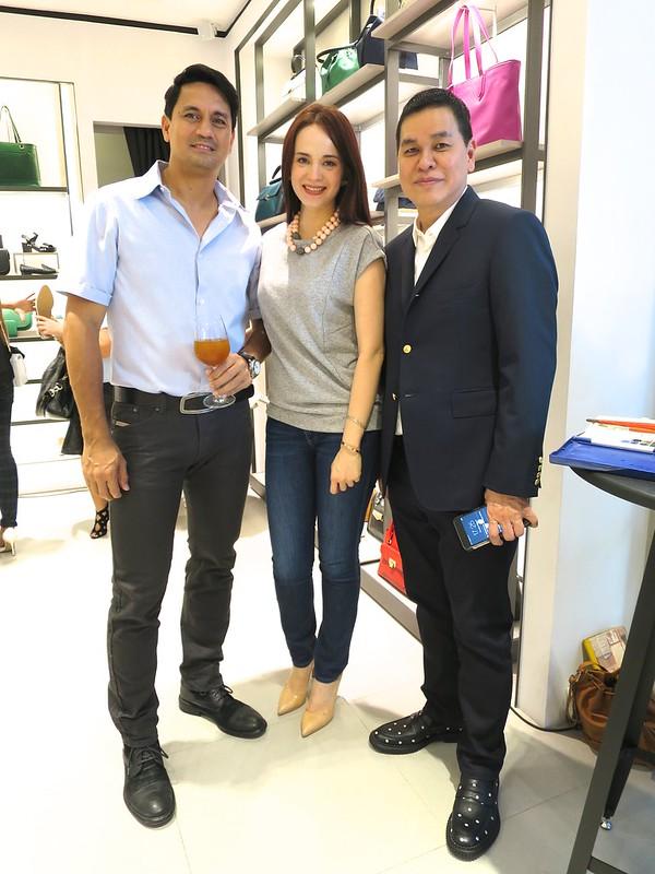 Richard & Lucy Gomez, Ben Chan