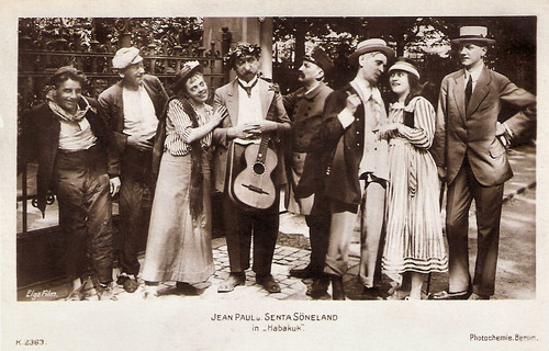 Senta Söneland and Jean Paul in Habakuk (1918)