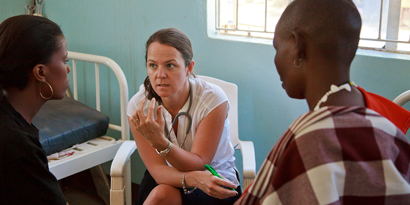 In honour of International Women's Day on March 8, learn more about how Karen Yeates is using mobile technology to monitor the health of pregnant women in sub-Saharan Africa.