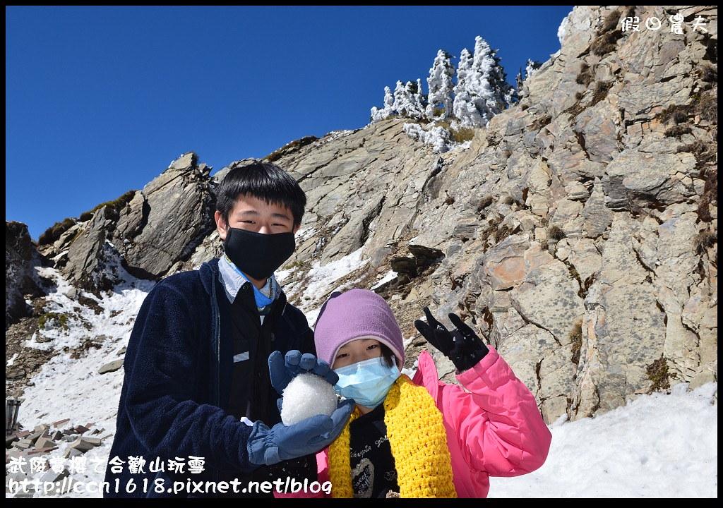 武陵賞櫻之合歡山玩雪DSC_5208