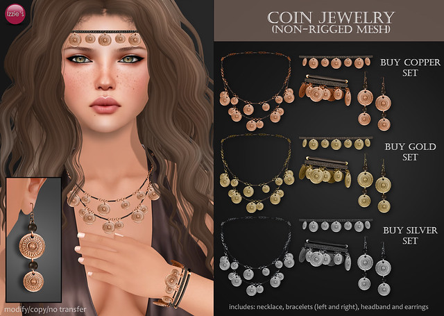 Coin Jewelry (for Uber)