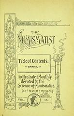 1896 Numismatist