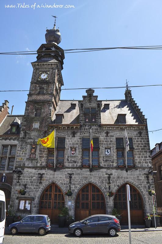 BINCHE - Hôtel de ville de Binche
