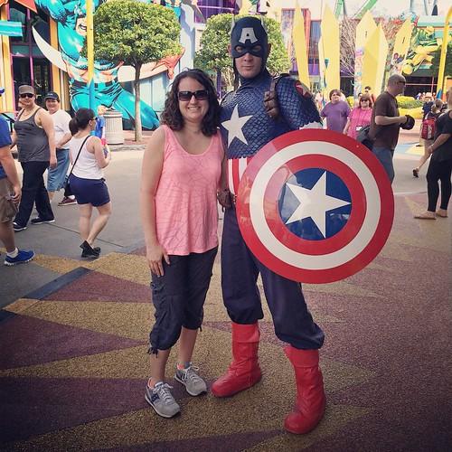 Hellooooo Captain America