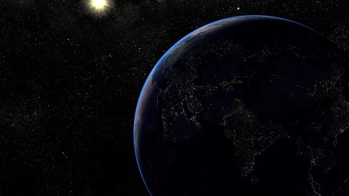 Outer space Earth