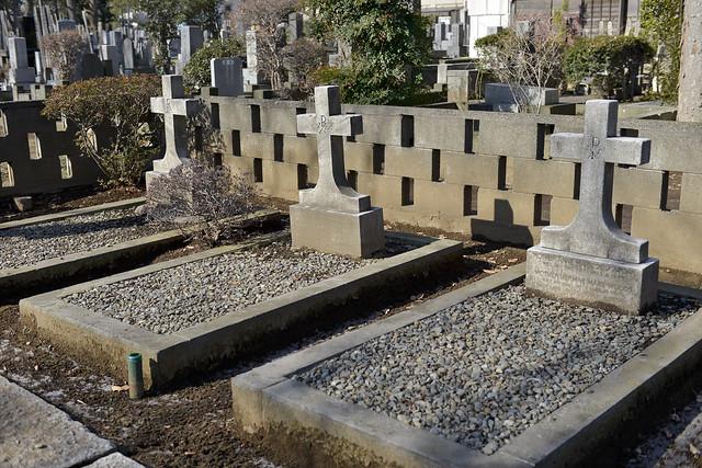 雑司ケ谷霊園 聖心会ミッショナリーの墓地