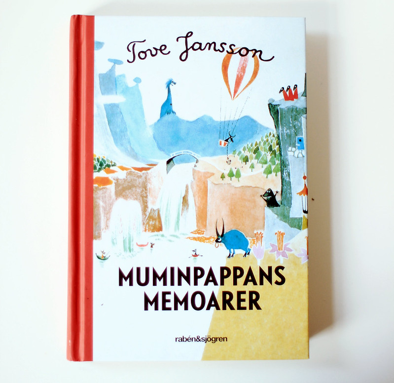 tove jansson - muminpappans memoarer.