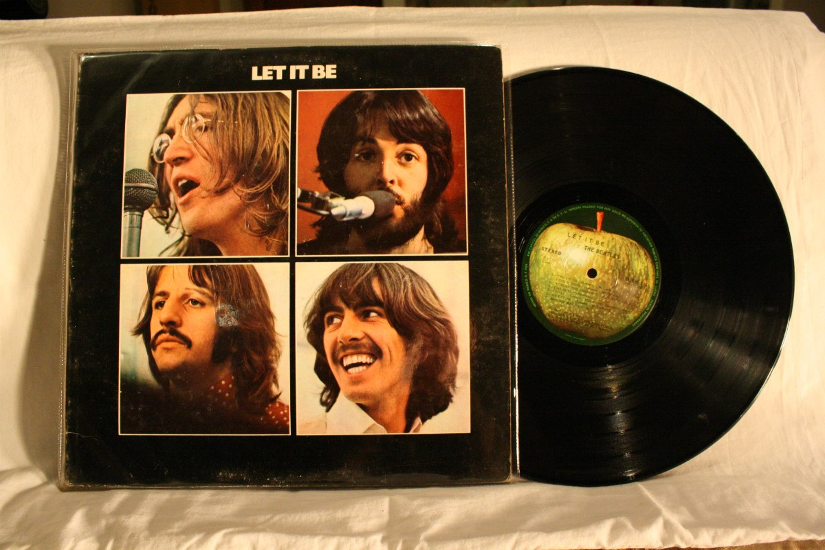 let it be vynil