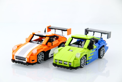 LEGO Porsche 911/997 GT3 Hybrid & Falken Motorsports