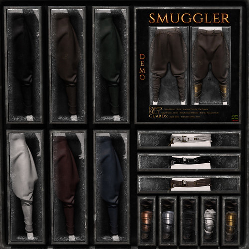 smuggler full pack