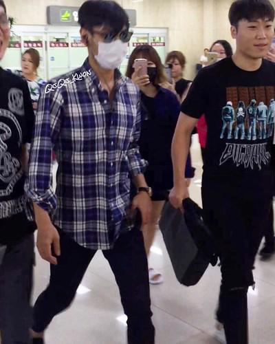 TOP arrival Seoul 2016-08-28 (1)