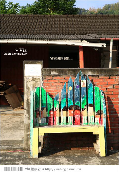 【台中霧峰景點】台中光復新村~可愛的造型椅林立、讓老眷村重新充滿新活力!36