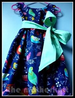 'Flock' Annie dress