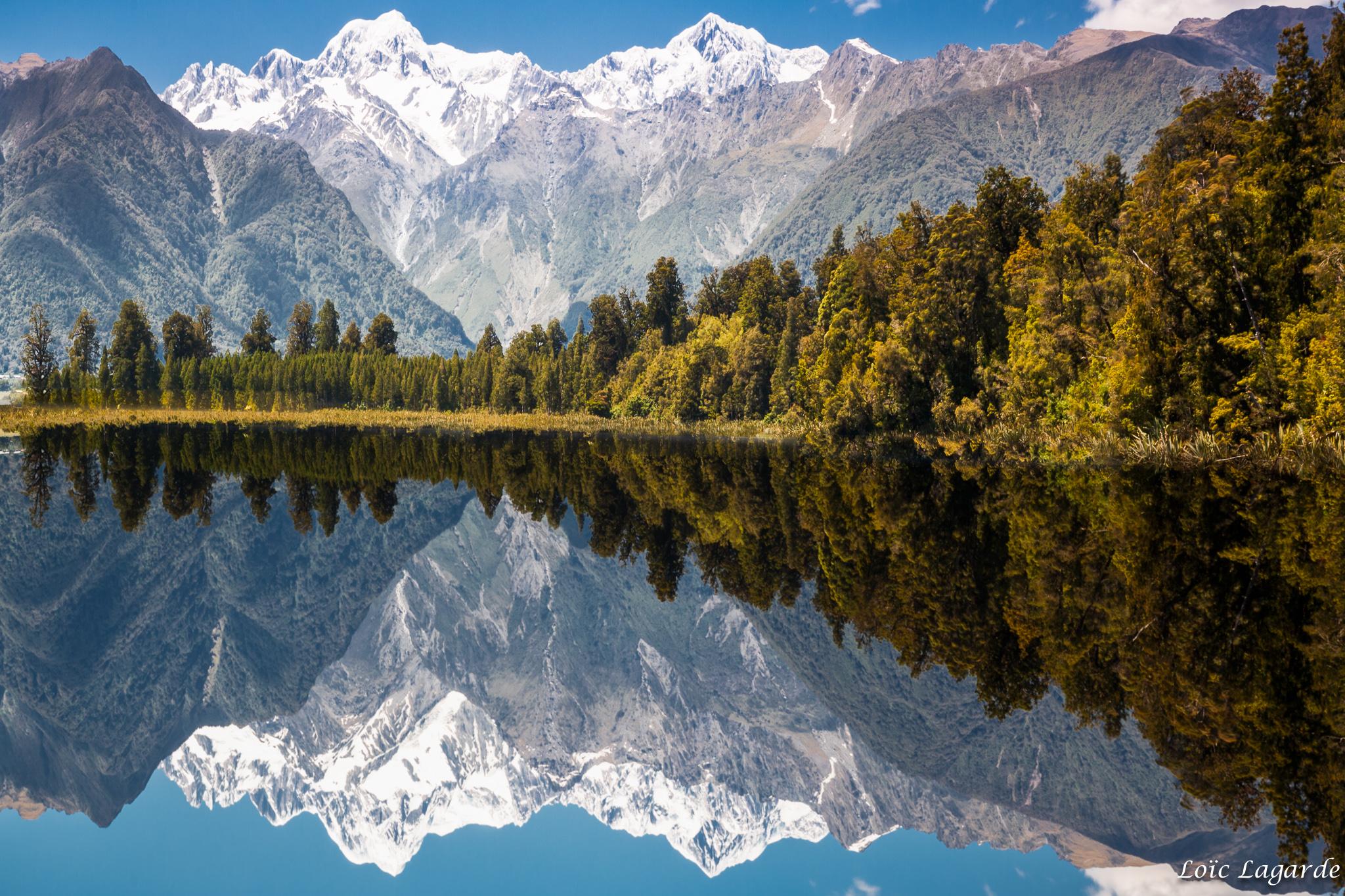 Nouvelle Zelande: Elevation Of Fox Glacier, New Zealand